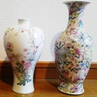 古い花瓶,花器の査定,買取り