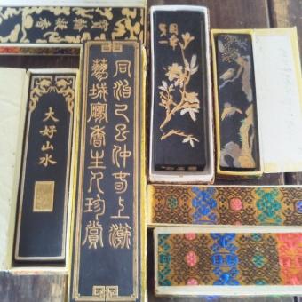 書道具,墨,中国墨の買取り