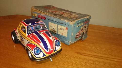 出張買取の池屋で買取った昭和レトロな雰囲気が人気のブリキのおもちゃ