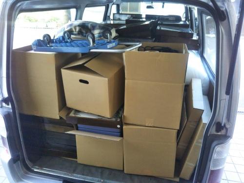 荷物が重たくて運べない場合はお手伝いします