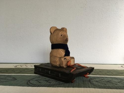 出張買取の池屋で買取った木彫り熊