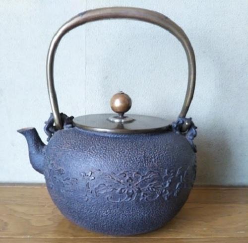 出張買取の池屋で買取った昭和初期の価値ある鉄瓶