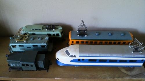 出張買取の池屋で買い取った鉄道模型