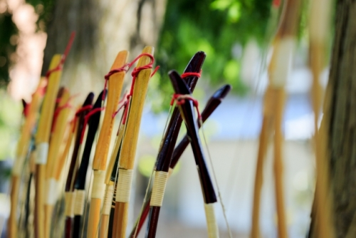 和弓のフリー画像