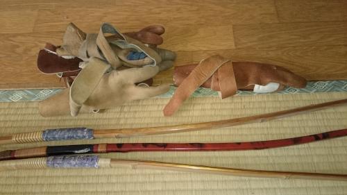 出張買取の池屋で買い取った弓道具