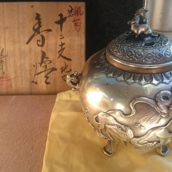 香炉・置香炉、柿右衛門作、九谷焼の香炉などの価値、買取りについて