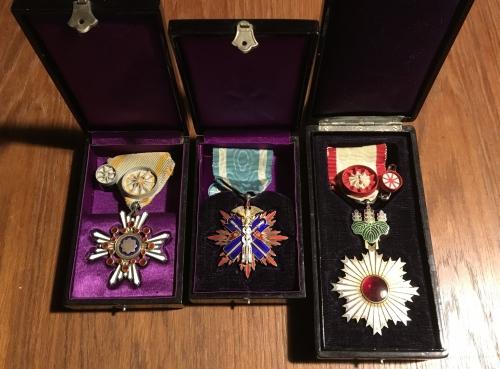 出張買取の池屋で買い取った日本軍 勲章