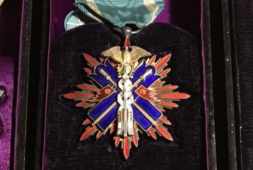 出張買取の池屋で買い取った金鵄勲章