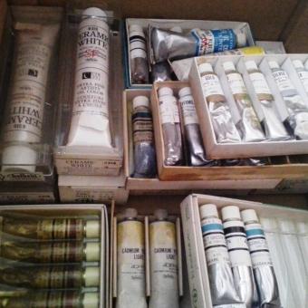 油絵具、画材の価値・相場・買取・リサイクルについて