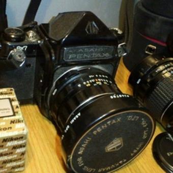古いカメラ、フィルムカメラの価値、相場、買取りについて