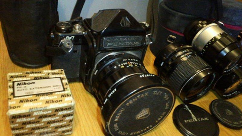 出張買取の『池屋』で買取ったカメラ