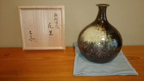 出張買取の池屋で買い取った花瓶