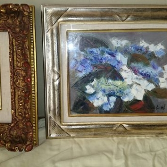 油絵、油彩、額縁の価値・相場・買取りについて