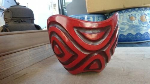 出張買取の池屋で買い取った鎌倉彫の器