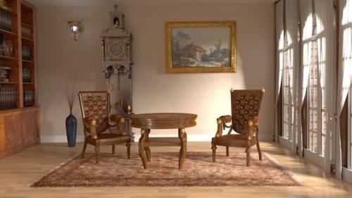 出張買取『池屋』のWebサイトで使用した王室インテリアのフリー素材